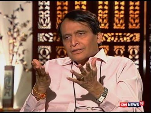 3 Saal Modi Sarkar -Sh Suresh Prabhu on three Yrs Report on CNN News18#3yearsofModiGovt.