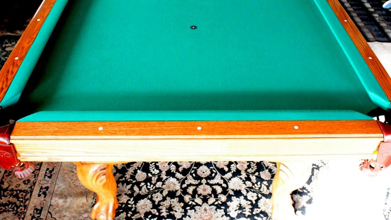 Olhausen Pool Table Simonis Cloth Review