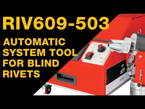 RIV609-503 (ENG) Automatic System Tool For Blind Rivets