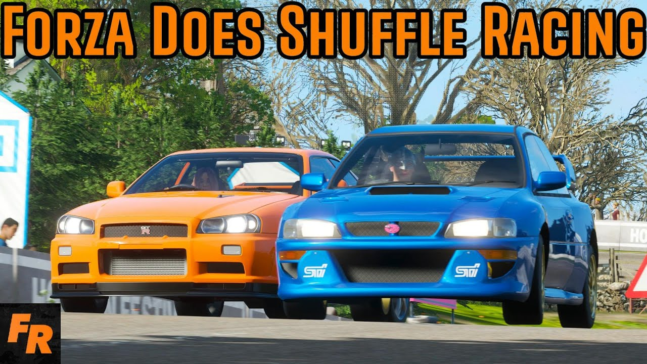 Shuffle Racing But On Forza Horizon 4