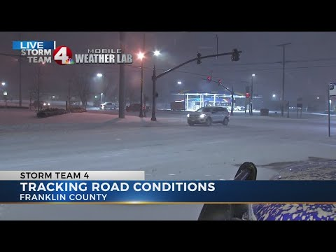 Winter weather hits Central Ohio