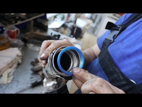 Замена и чистка уплотнителей турбины, дросселя и интеркулера на дизельном Рено Дастер