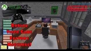 Roblox Video Game Factory Tycoon Magyarul!
