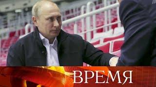 Овзглядах президента России навнешнюю политику США узнали американские зрители.