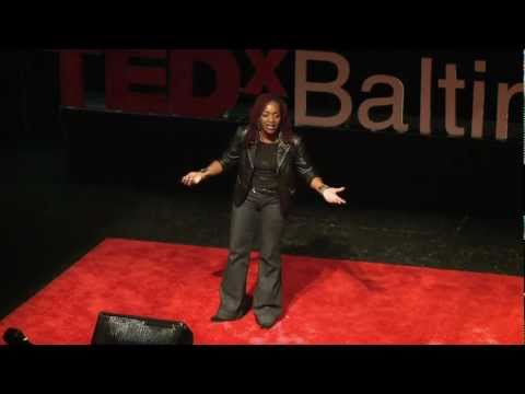 The Truth About Goaldiggers: MESHELLE At TEDxBaltimore 2011