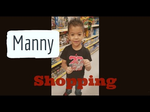 Manny Shopping For Toys With His Giftcard!! (Part 1)