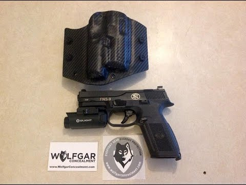 Wolfgar Concealment Holsters (FNS9 Olight Valkyrie weapon light)