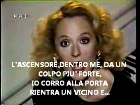 LORETTA GOGGI -Dirtelo, non dirtelo + TESTO.wmv