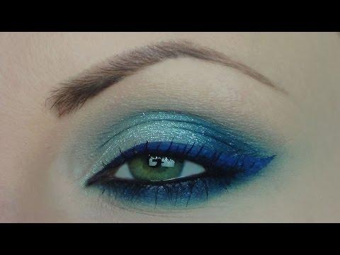 Trucco Per Abito Blu Elettrico Youtube