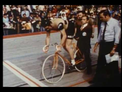 Eddy Merckx - Hour Record 1972 Mexico City