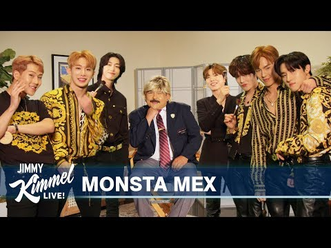 Monsta X Gives Guillermo a Makeover
