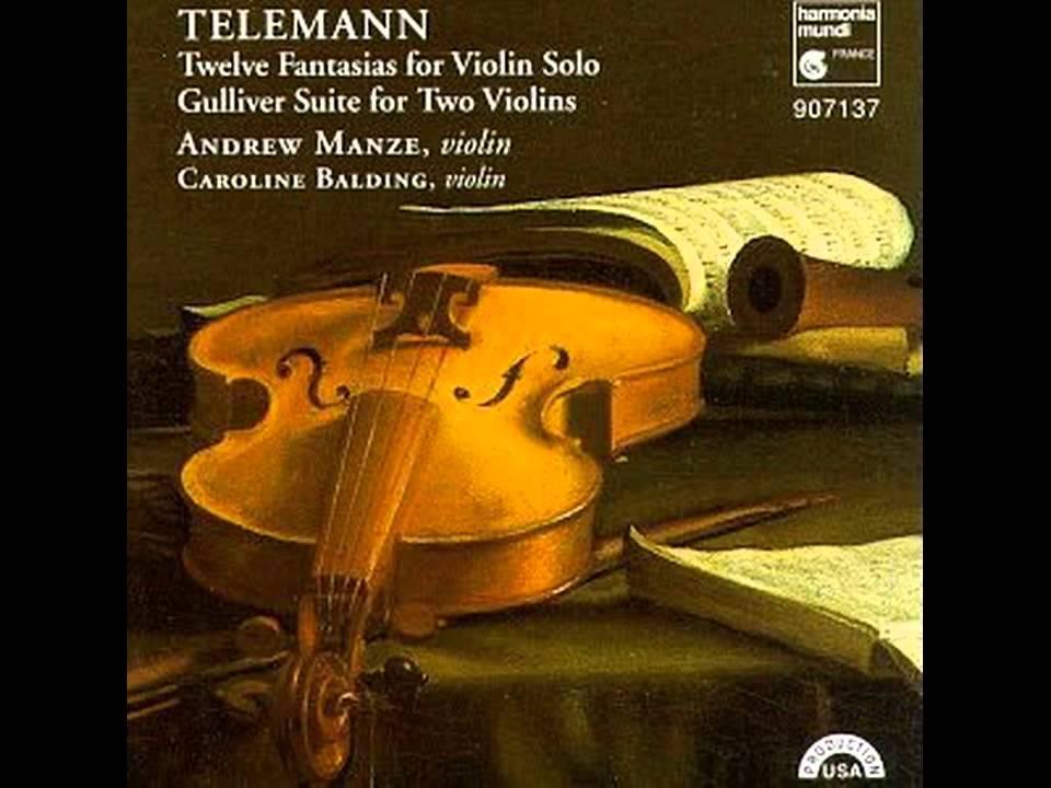 12 fantasias for solo violin pdf