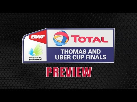 TOTAL BWF Thomas & Uber Cup Finals 2016 Preview | Badminton - Uber Cup