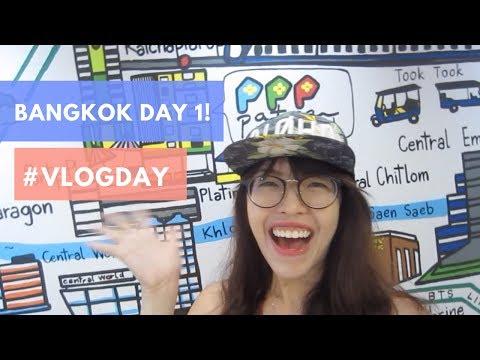 #vlogday, Bangkok Day 1! Platinum mall, NEON Market (FAIL), Big C Supermarket!