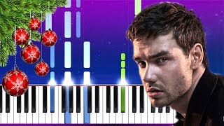Liam Payne - All I Want (For Christmas) (Piano tutorial)