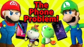 Crazy Mario Bros - Mario and Luigi's Phone Problem!