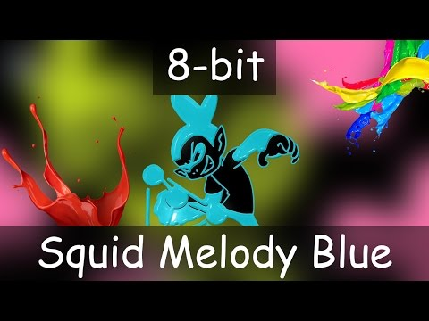 The Living Tombstone - Squid Melody Blue - 8 Bit Cover