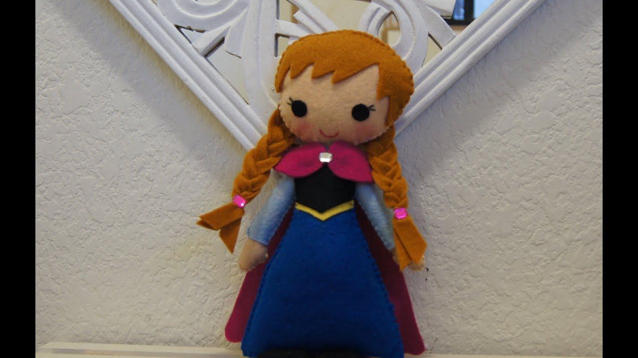 Como hacer princesa anna de frozen youtube - Como hacer un estor enrollable paso a paso ...