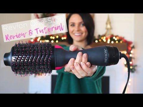 easiest-way-to-use-revlon-one-step-volumizer-hair-dryer-&-review!