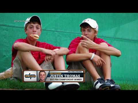 PGA Championship Winner Justin Thomas talks Jordan Speith and his antics (8/14/17)