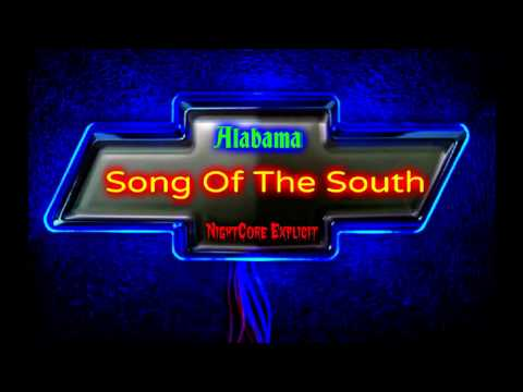 Alabama: Song Of The South- NightCore