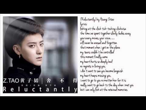 Z.TAO-Reluctantly Eng Lyrics❤️