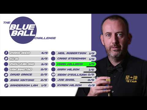 Mark Williams: Blue Ball Challenge