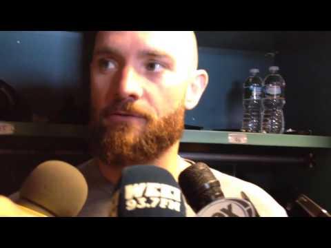 Jonny Gomes explains robbing Dustin Pedroia, return to Fenway