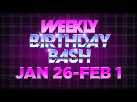 Celebrity Actor Birthdays - January 26 - February 1, 2014 HD