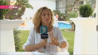 Joaquina Barba presenta Clariana Parc en Tele7 Safor