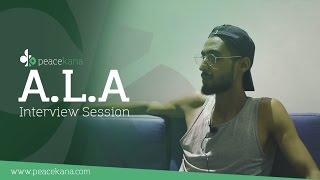 Interview A.L.A : انا و غراب انتفاضة في الراب