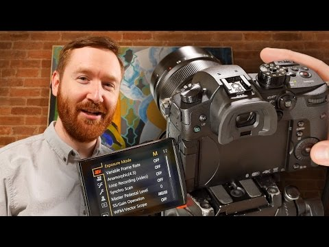 How to set up your new Panasonic GH5 for Filmmaking