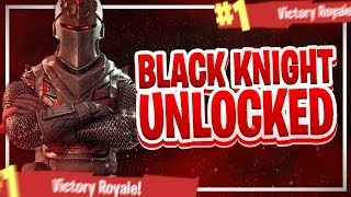 BLACK KNIGHT SKIN UNLOCKED! BATTLE PASS SEASON 2 FINISH! (Fortnite: Battle Royale - Nederlands PS4)