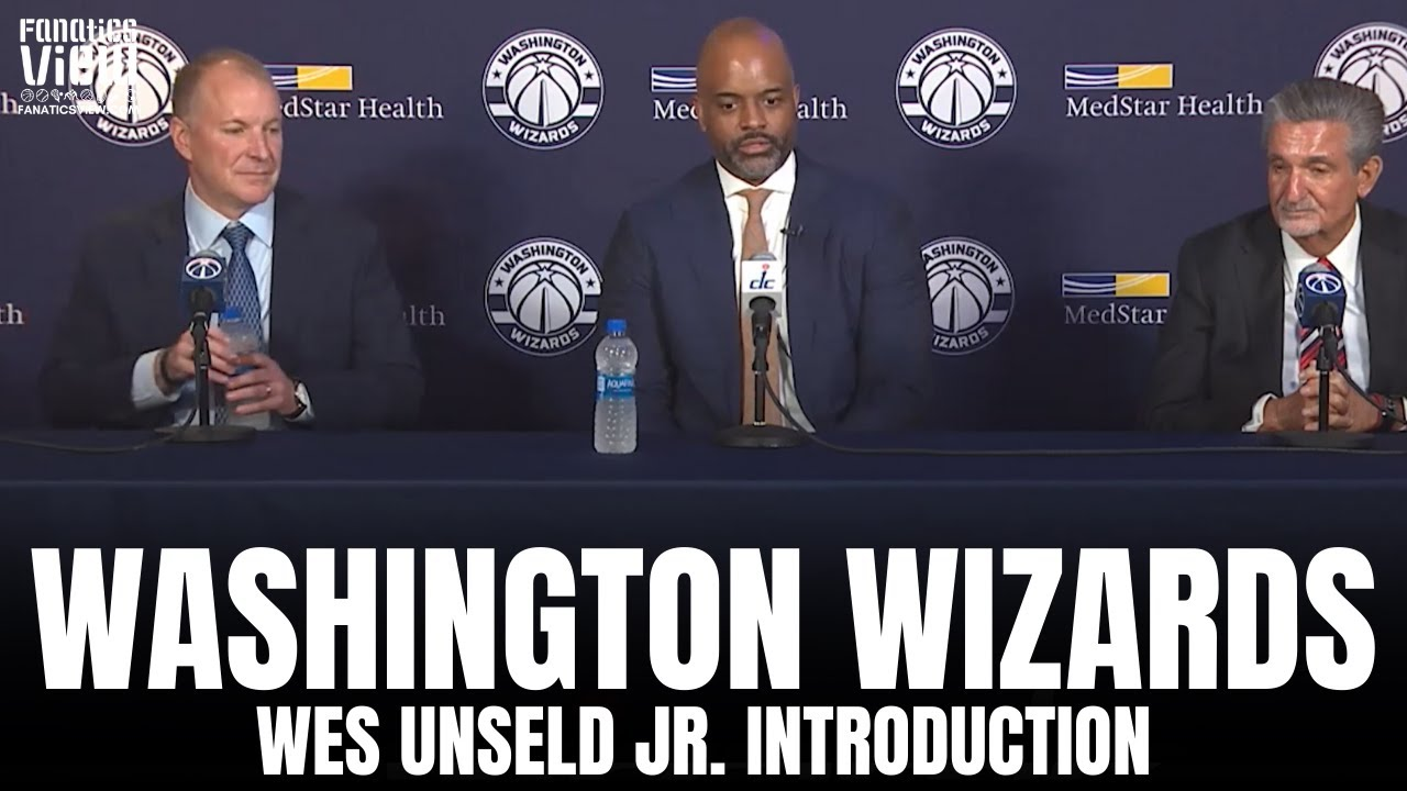 Washington Wizards Introduce Wes Unseld Jr. as Head Coach of the Wizards | Full Press Conference