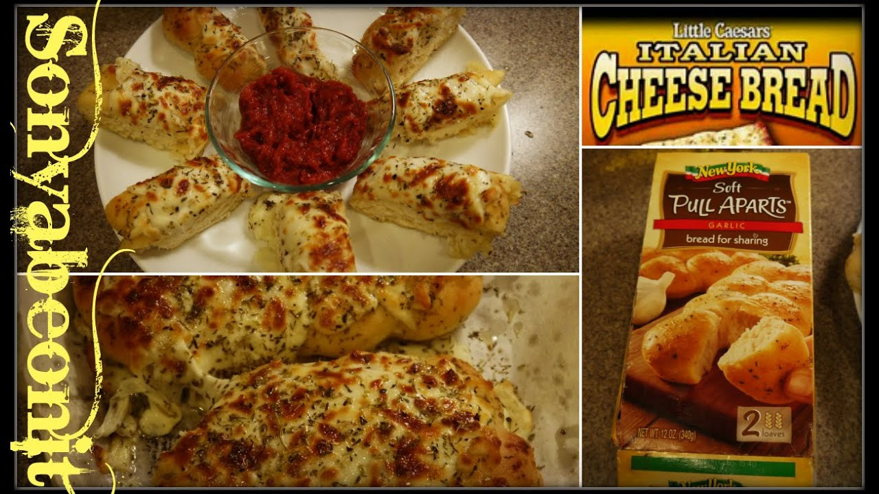 How To Make Little Caesars Italian Cheese Bread Quick Easy