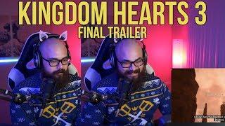 Kingdom Hearts 3 Final Trailer Reaction