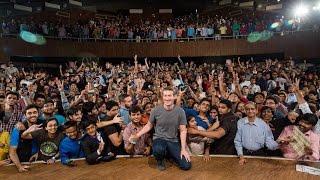 Mark Zuckerberg Townhall Q&A At IIT Delhi Highlights | 28.10.2015 thumbnail
