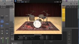 Logic Pro X - Video Tutorial 46 - Drummer Plug-in (PART 2)