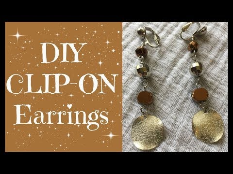 How To Convert Pierced Earrings To Clip Ons