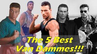 Top 5 Jean-Claude Van Damme Characters!!!