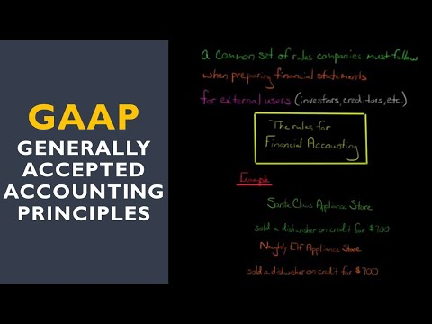 Introduction to GAAP (Generally Accepted Accounting Principles)