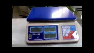 весы ГАСТРОНОМ. Испытание электронных весов льдом