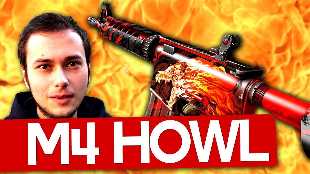 Jucam cu un M4A4 HOWL Factory New!