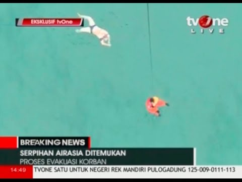Search for AirAsia jet: Suspected bodies, debris found TV ONE  Reuters