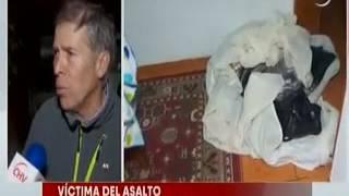 Familia sufrió millonario robo en su casa en Santiago Centro