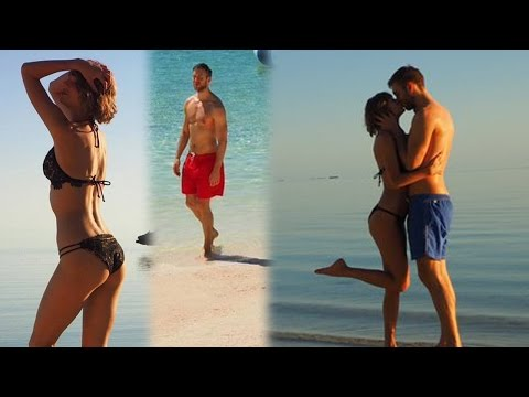 Taylor Swift & Calvin Harris Sexy Island Anniversary Vacation