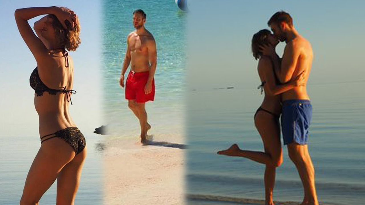 Taylor Swift & Calvin Harris' Sexy Island Anniversary Vacation