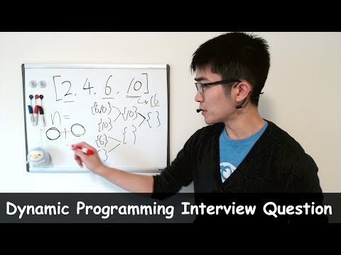 Dynamic Programming Interview Question #1 - Find Sets Of Numbers That Add Up To 16