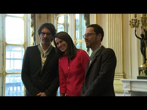 US filmmakers Joel and Ethan Coen honoured in France