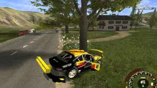 Xpand Rally Xtreme - Dziwny model zderzeń